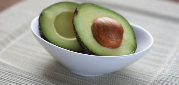 Avocado in a bowl